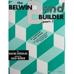 Belwin Band Builder - Baritone Treble Clef, Part 1