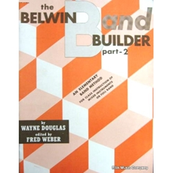 Belwin Band Builder - Baritone Saxophone, Part 2