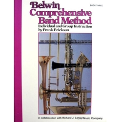 Belwin Comprehensive Band Method Book 3 (Set of books)