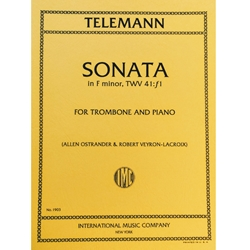 TELEMANN - Sonata in F minor for Trombone & Piano
