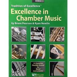 w44xe excellence in chamber music book 3 eb alto saxophone eb baritone saxophone