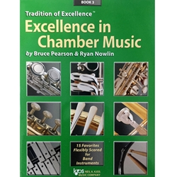 w44cle excellence in chamber music book 3 eb alto clarinet