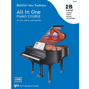 Bastien New Traditions All-in-One Piano Course - Level 2B