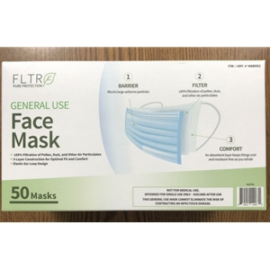 General Use Face Mask (Box of 50)