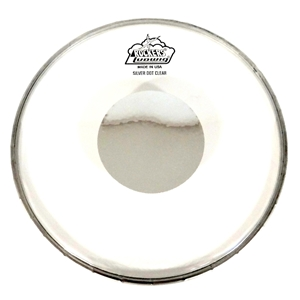 ellis music company ludwig rockers silver dot 10 drum head clear. Black Bedroom Furniture Sets. Home Design Ideas