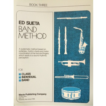 Ed Sueta Band Method for Alto Sax, Book 3