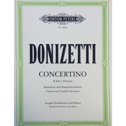DONIZETTI - Concertino in Bb Major for Clarinet & Piano