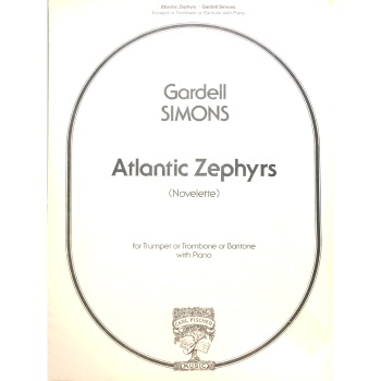 Atlantic Zephyrs for Trumpet or Trombone/Baritone with Piano