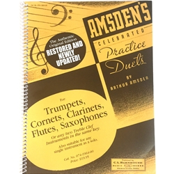 Amsden's Celebrated Practice Duets, Treble Clef version