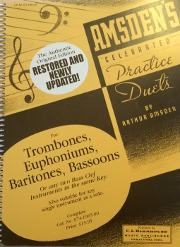 Amsden's Celebrated Practice Duets, Bass Clef version